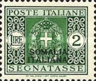 [Italian Postage Due Stamps Overprinted, type F9]