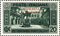 [Not Issued Italian Postage Stamps Overprinted, type AB]