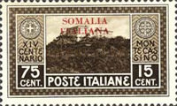 [Not Issued Italian Postage Stamps Overprinted, type AB3]
