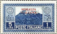 [Not Issued Italian Postage Stamps Overprinted, type AB5]