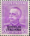 [Italian Postage Stamps Overprinted, type AE1]