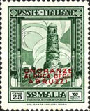 [Not Issued Stamps Overprinted, type AT1]