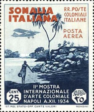 [International Colonial Exhibition, Naples, type AV]
