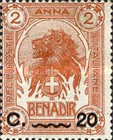 [Issue of 1903 Surcharged, type D4]