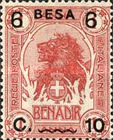 [Issue of 1906-1916 Surcharged, type G1]