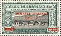 [Italian Postage Stamps Overprnted & Surcharged, type M1]