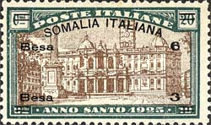 [Italian Postage Stamps Overprinted & Surcharged, type O]
