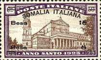 [Italian Postage Stamps Overprinted & Surcharged, type O2]
