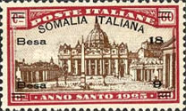 [Italian Postage Stamps Overprinted & Surcharged, type O3]