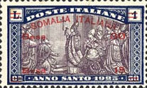 [Italian Postage Stamps Overprinted & Surcharged, type O4]