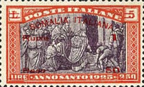 [Italian Postage Stamps Overprinted & Surcharged, type O5]