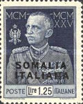 [Italian Postage Stamps Overprnted