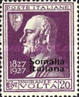 [Not Issued Italian Postage Stamps Overprinted, type W]