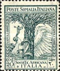 [The 46th Anniversary of the Italian Africa Company, type Y]