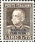 [Italian Postage Stamps Overprinted in Black or Red Colour, type Z2]
