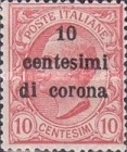 [Italian Stamps Surcharged, Typ D]