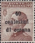 [Italian Stamps Surcharged, Typ G]