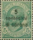 [Italian Stamps Surcharged, Typ N]