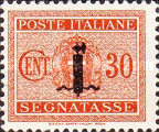 [Postage Due Stamps of 1934 Overprinted, type I4]