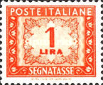 [Numeral Stamps, Typ L]