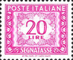 [Numeral Stamps, Typ M3]