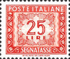 [Numeral Stamps, Typ M4]
