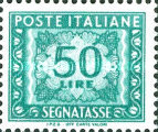 [Numeral Stamps, Typ M6]