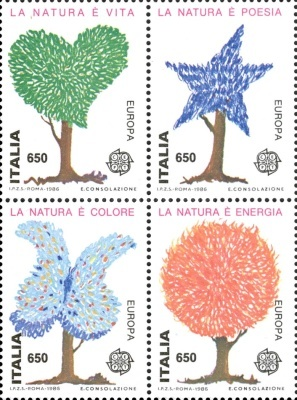 [EUROPA Stamps -	Nature Conservation, Typ ]