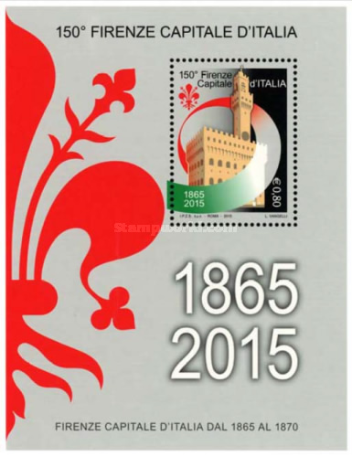 [The 150th Anniversary of the Proclamation of Florence as Capital of Italy, Typ ]