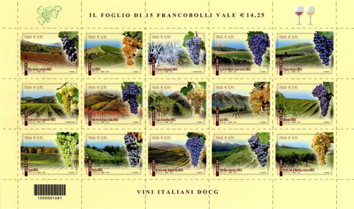 [Made in Italy - DOCG-Label Wine, Typ ]