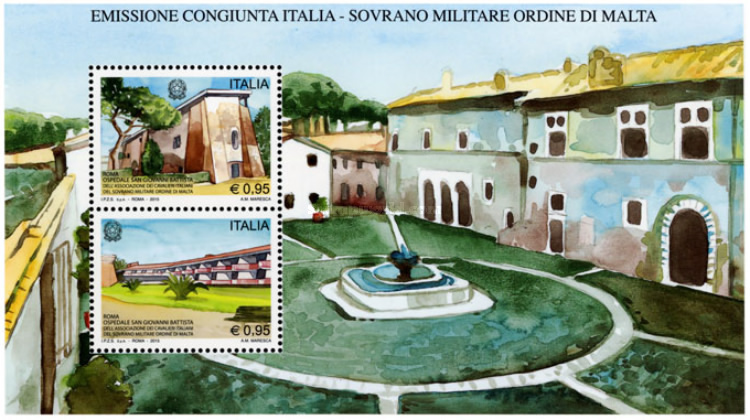 [San Giovanni Battista Hospital, Rome - Joint Issue with S.M.O.M., Typ ]
