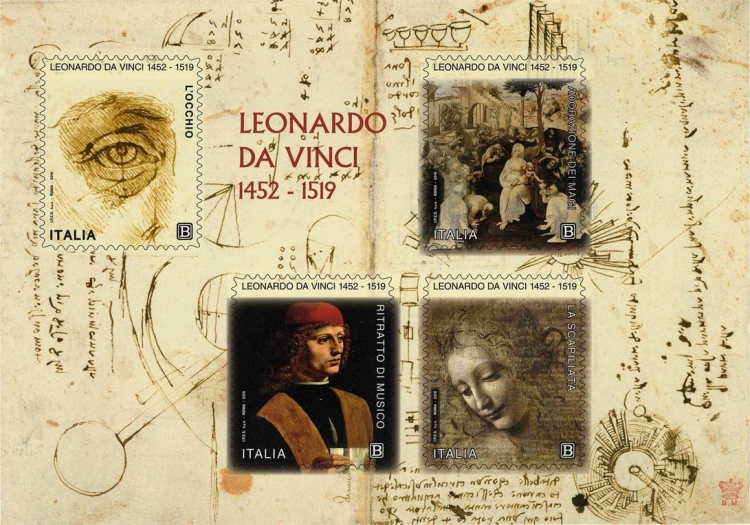 [The 500th Anniversary of the Death of Leonardo da Vinci, 1452-1519, Typ ]