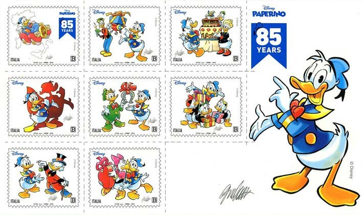 [The 85th Anniversary of Donald Duck, type ]