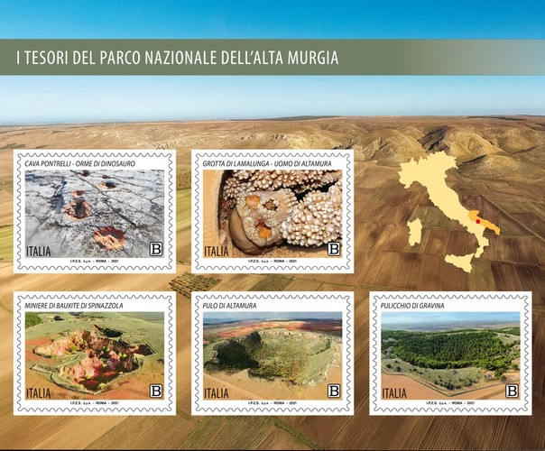 [The Treasures of the Alta Murgia National Park, type ]