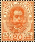 [King Umberto I - New Designs, type AB]