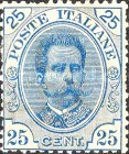 [King Umberto I - New Designs, type AC]