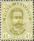 [King Umberto I - New Designs, type AD]