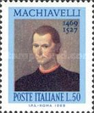 [The 500th Anniversary of the Birth of Machiavelli, Typ AFC]