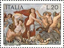 [The 450th Anniversary of the Death of Raphael, Typ AFI]