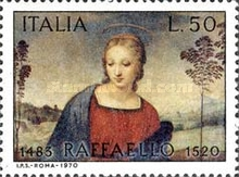 [The 450th Anniversary of the Death of Raphael, Typ AFJ]