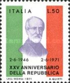 [The 25th Anniversary of the Italian Republic, Typ AGF]