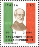 [The 25th Anniversary of the Italian Republic, Typ AGF1]