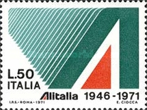 [The 25th Anniversary of ALITALIA, Typ AGK]