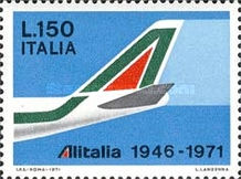[The 25th Anniversary of ALITALIA, Typ AGM]