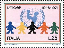 [The 25th  Anniversary of UNICEF, Typ AGP]