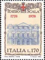 [The 200th Anniversary of La Scala Opera House, Milan, Typ APL]