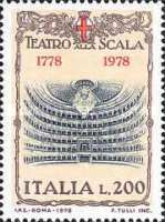 [The 200th Anniversary of La Scala Opera House, Milan, Typ APM]