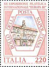 [The 20th International Philatelic Exhibition, Naples, type ASN]