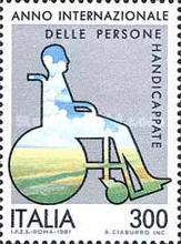 [International Year of the Disabled, type AUT]