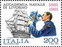 [The 100th Anniversary of the Naval Academy of Livorno, type AVO]